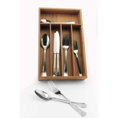 Everyday 40-Piece Flatware Set with Drawer Caddy