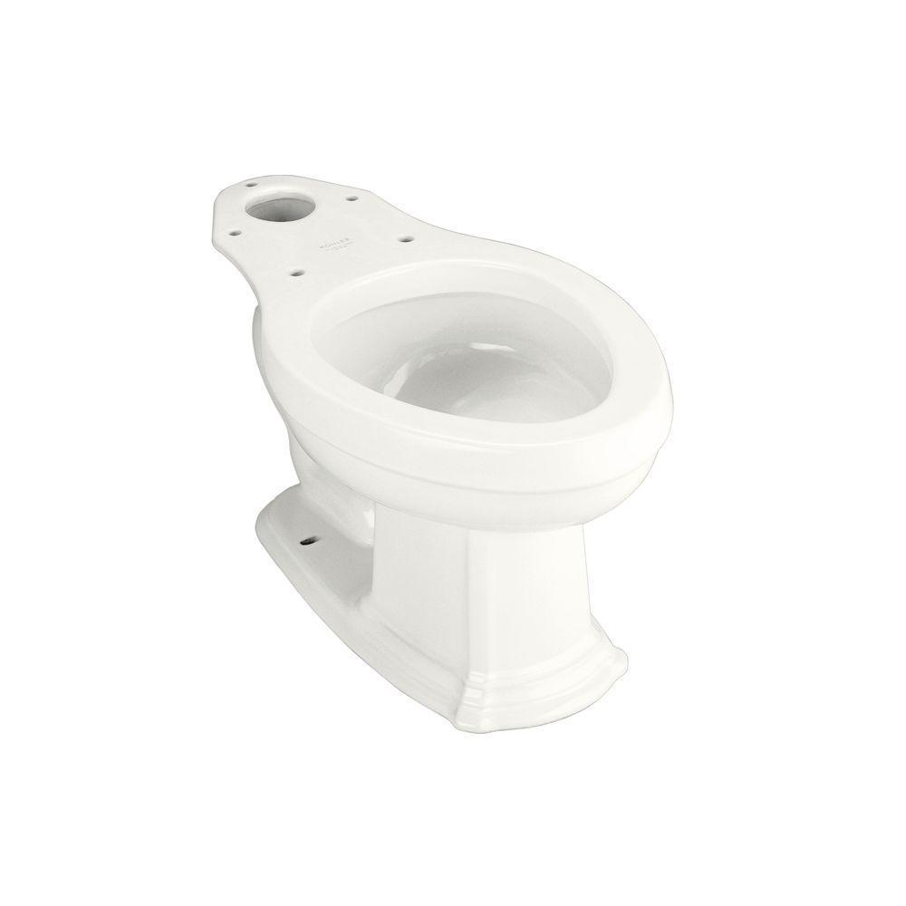 KOHLER Portrait Elongated Toilet Bowl Only in White