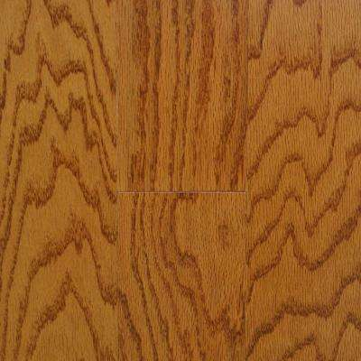 Oak Spice 3/8 in. Thick x 4-1/4 in. Wide x Random Length Engineered Click Real Hardwood Flooring (20 sq. ft. / case)
