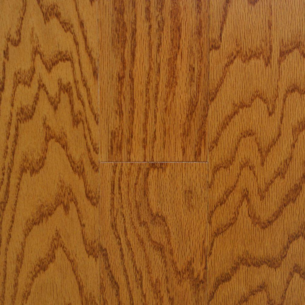 Millstead Oak Spice 3/4 in. Thick x 4 in. Width x Random Length Solid Real Hardwood Flooring (21 sq. ft. / case)