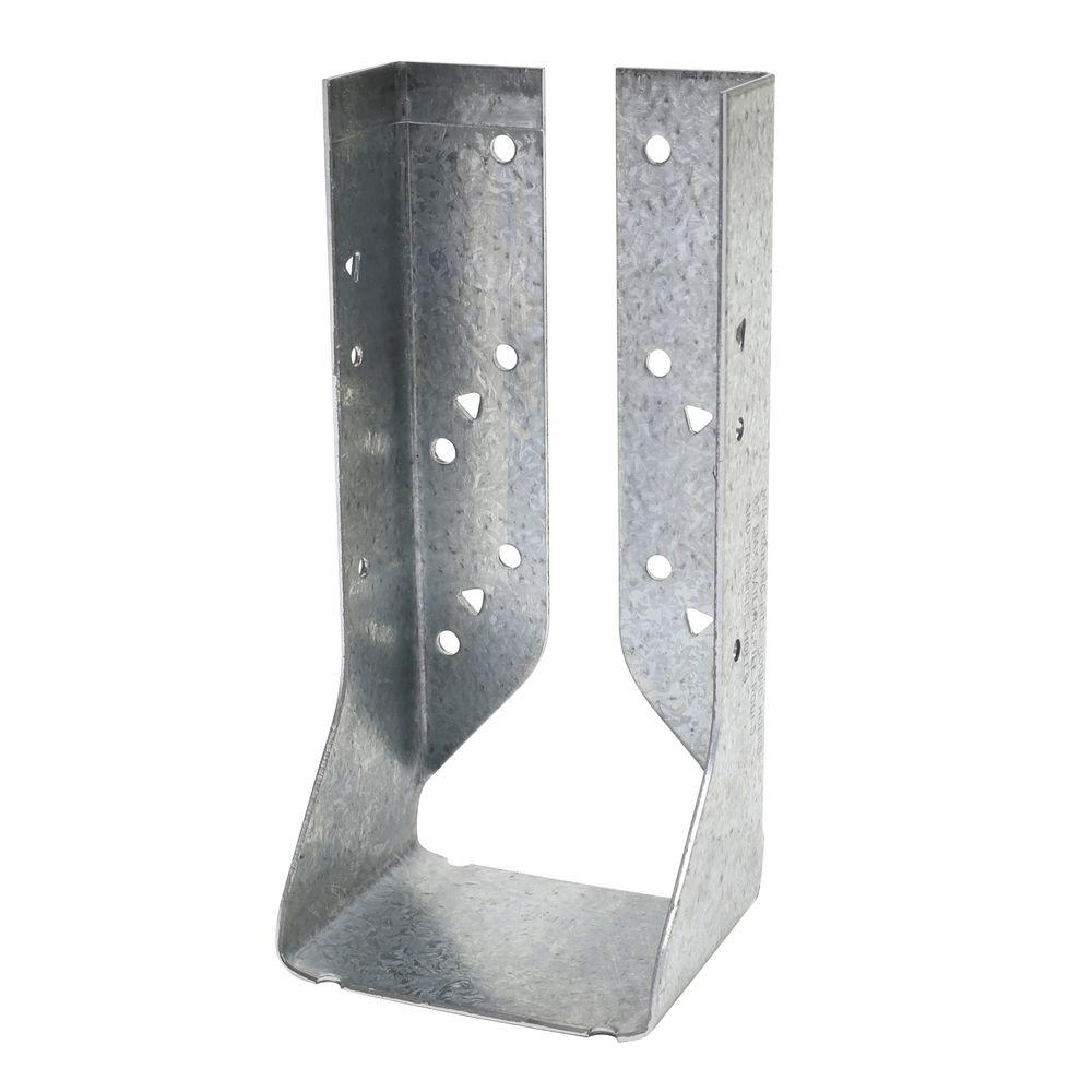 Double 2 in. x 8 in. Concealed Face Mount Joist Hanger