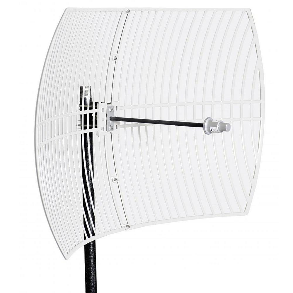 Homevision Technology Turmode Grid Parabolic Wi-Fi Antenna for 5.8GHz Turmode WAG58302 WiFi Antenna is designed to increase the signal strength and range of your 5.8 GHz 802.11b/g/n Wi-Fi device. This high gain antenna can provides further coverage for your Wi-Fi devices such as routers, adapters, access points and repeaters. So you can expand your network for reliable coverage throughout your home.
