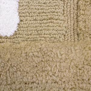 Internet #301223497. +3. Jean Pierre Cotton HIS And HERS Linen Bath Rug ...