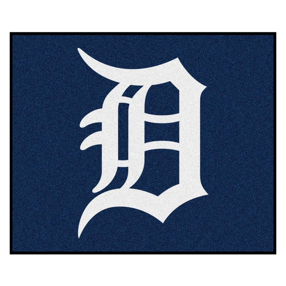 Fanmats Mlb Detroit Tigers Blue 5ft X 6in Indoor