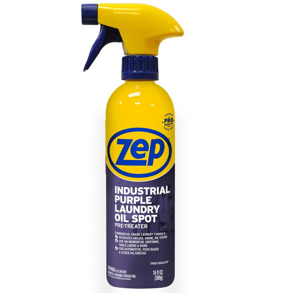 ZEP 16 oz. Industrial Purple Laundry Oil Stain Pre-Treater