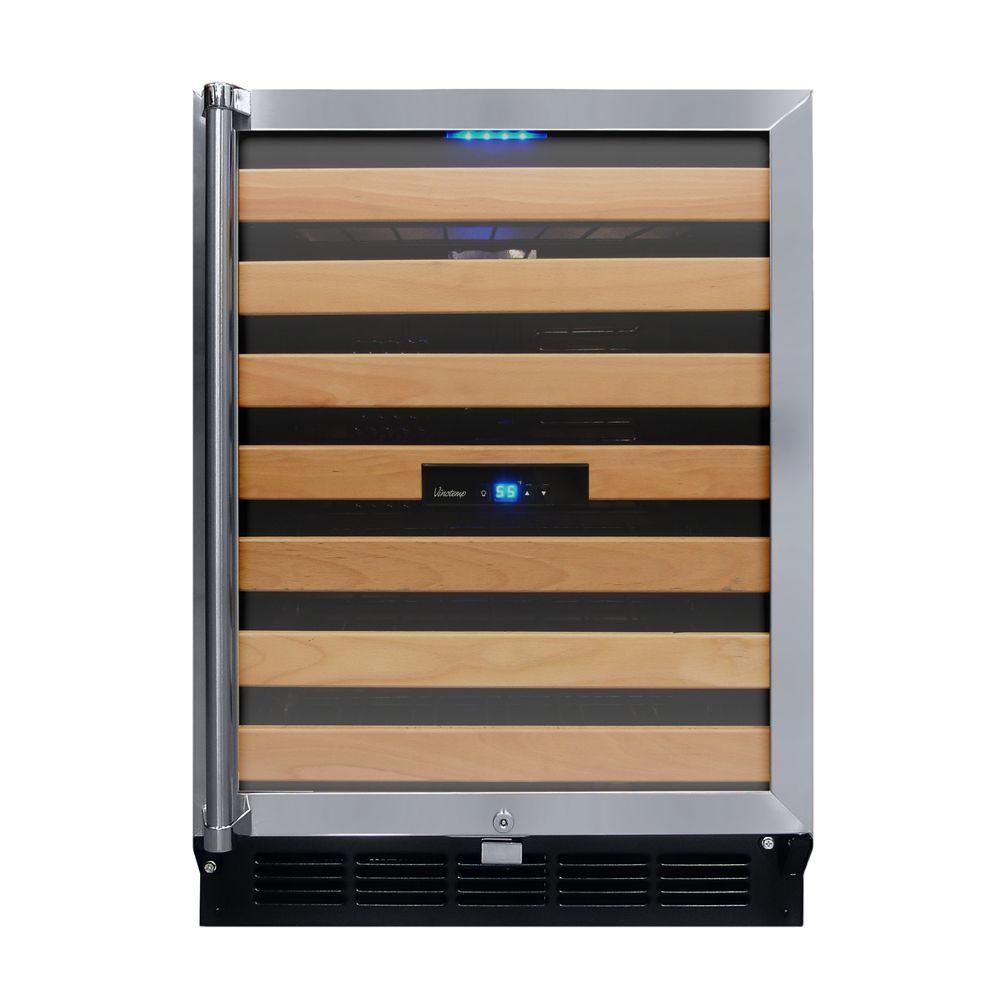 Vinotemp Butler 24 in. 50-Bottle Wine Cooler