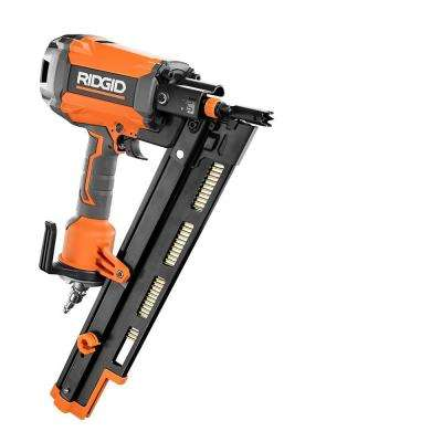 21 Degree 3-1/2 in. Round-Head Framing Nailer