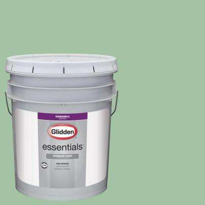 5 gal. #HDGG59 Sea Glass Green Eggshell Interior Paint