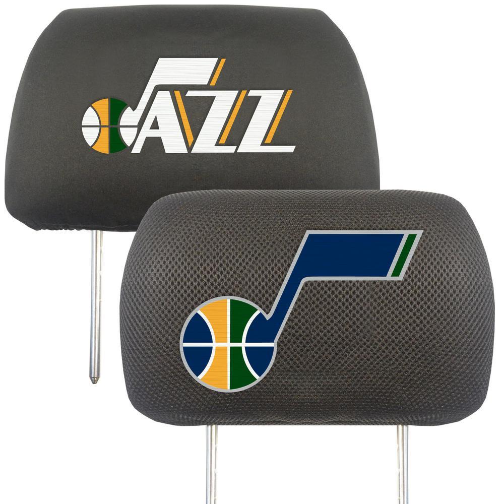 NBA - Utah Jazz Mesh 13 in. x 10 in. Head Rest Cover