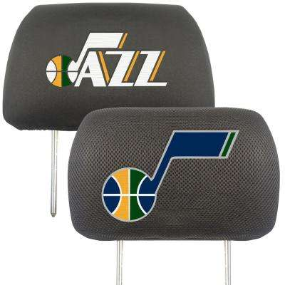 NBA - Utah Jazz Mesh 13 in. x 10 in. Head Rest Cover
