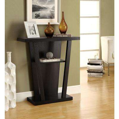 Cappuccino Console Table