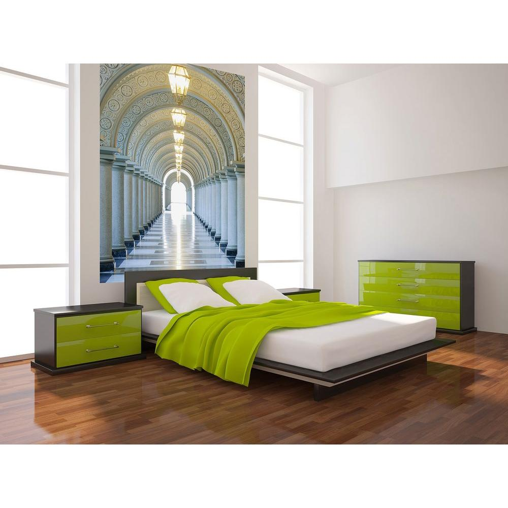 Ideal Decor 100 In. X 72 In. Archway Wall Mural Part 37