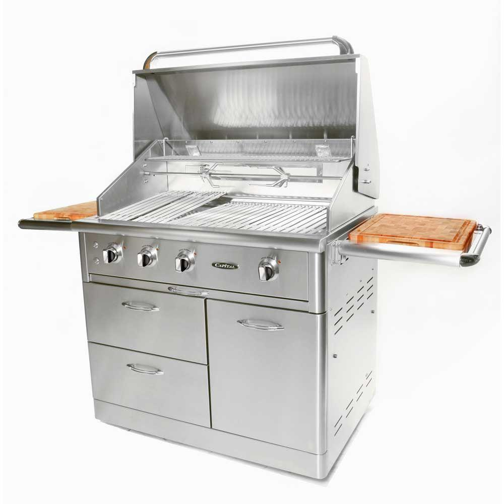 Capital Precision 4-Burner Stainless Steel Natural Gas Grill
