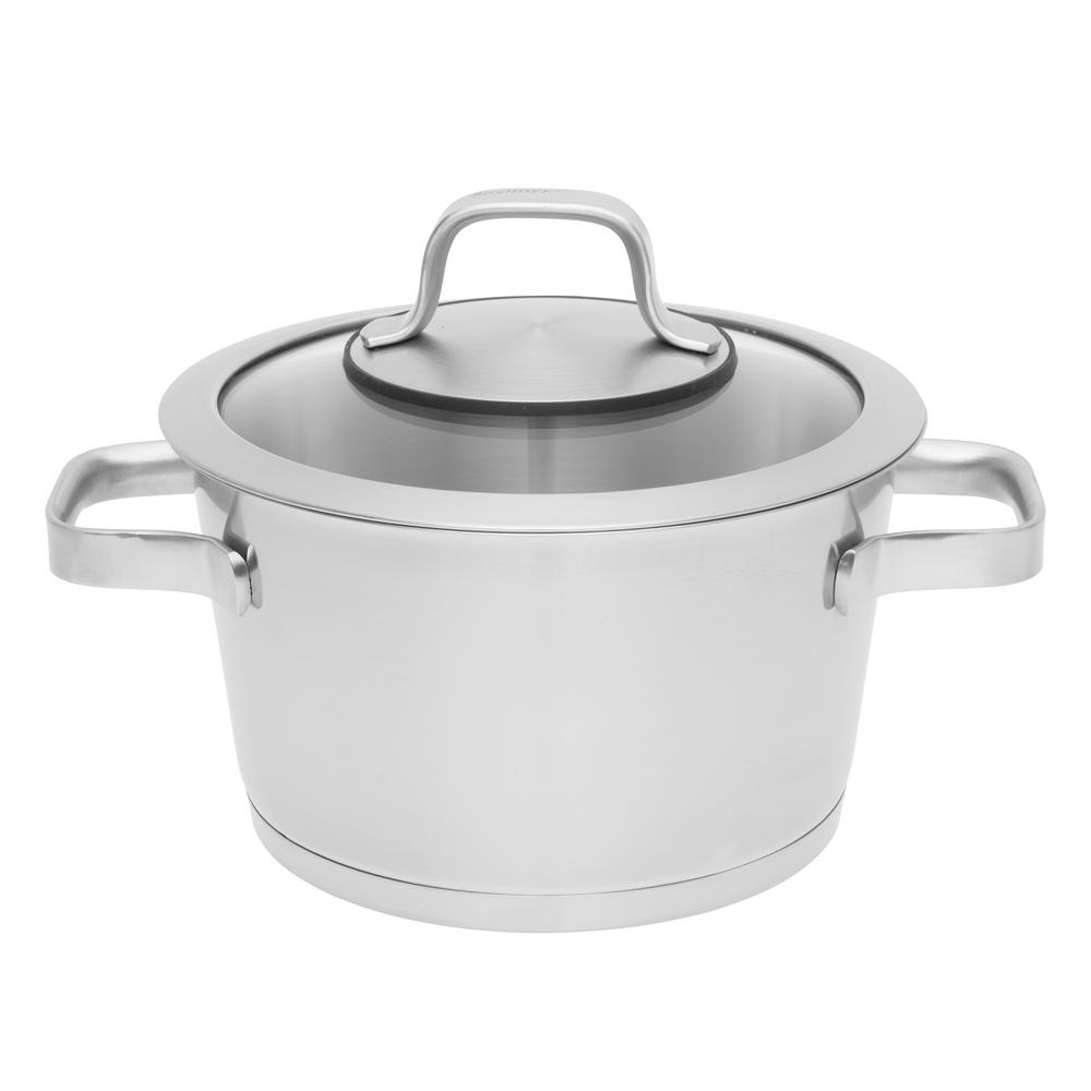 Essentials 3.2 Qt. Stainless Steel Covered Casserole