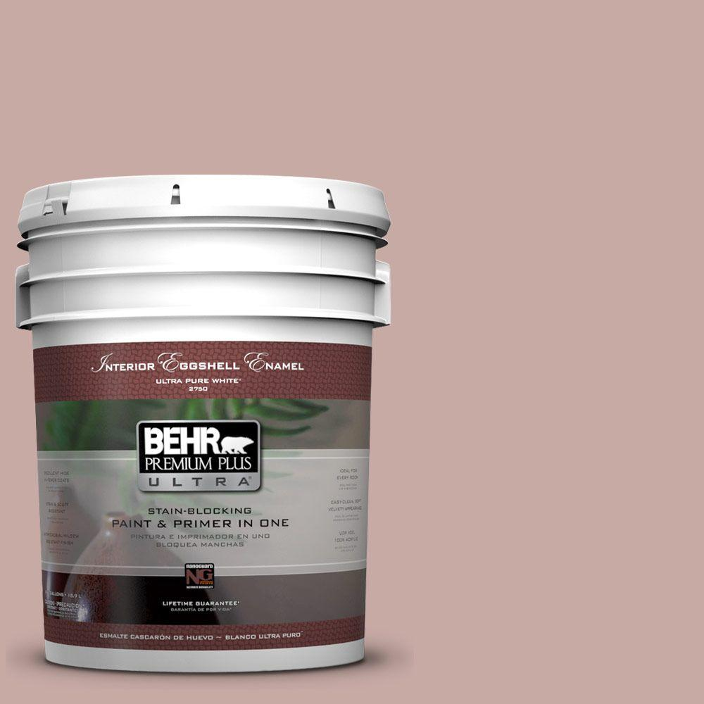 BEHR Premium Plus Ultra 5-gal. #700A-3 Pottery Clay Eggshell Enamel Interior Paint