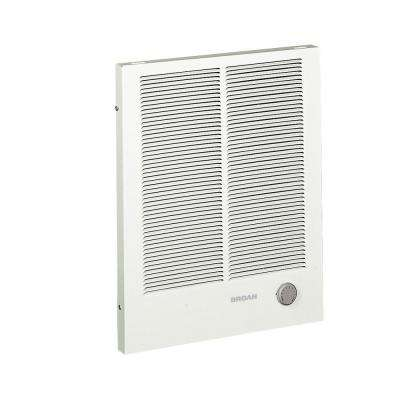16-13/32 in. x 20-19/64 in. 4,000-Watt High-Capacity Wall Heater in White