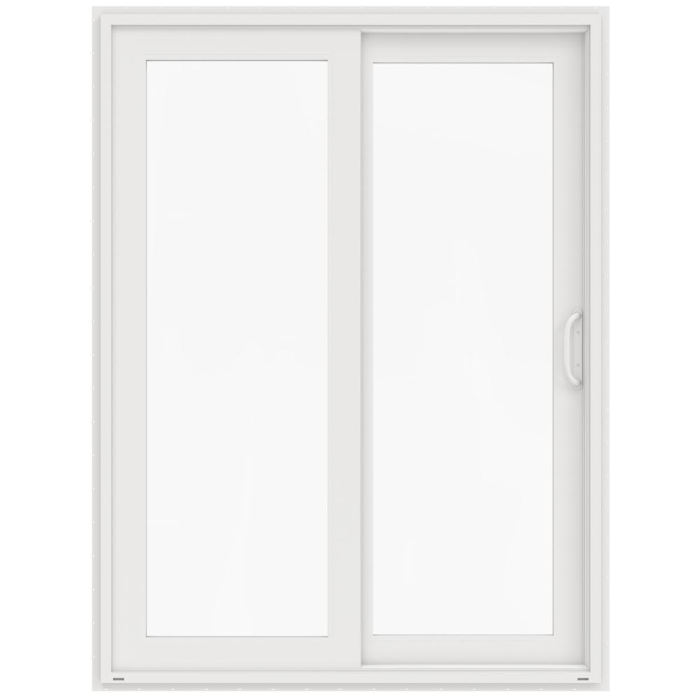 60 in x 80 in v 4500 white vinyl right hand full - 60 Patio Door