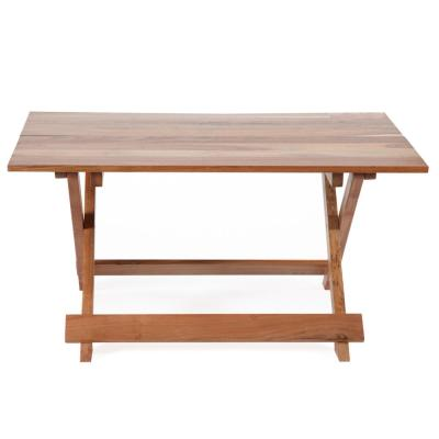 Banon Natural Wood Color Foldable Acacia Coffee Table