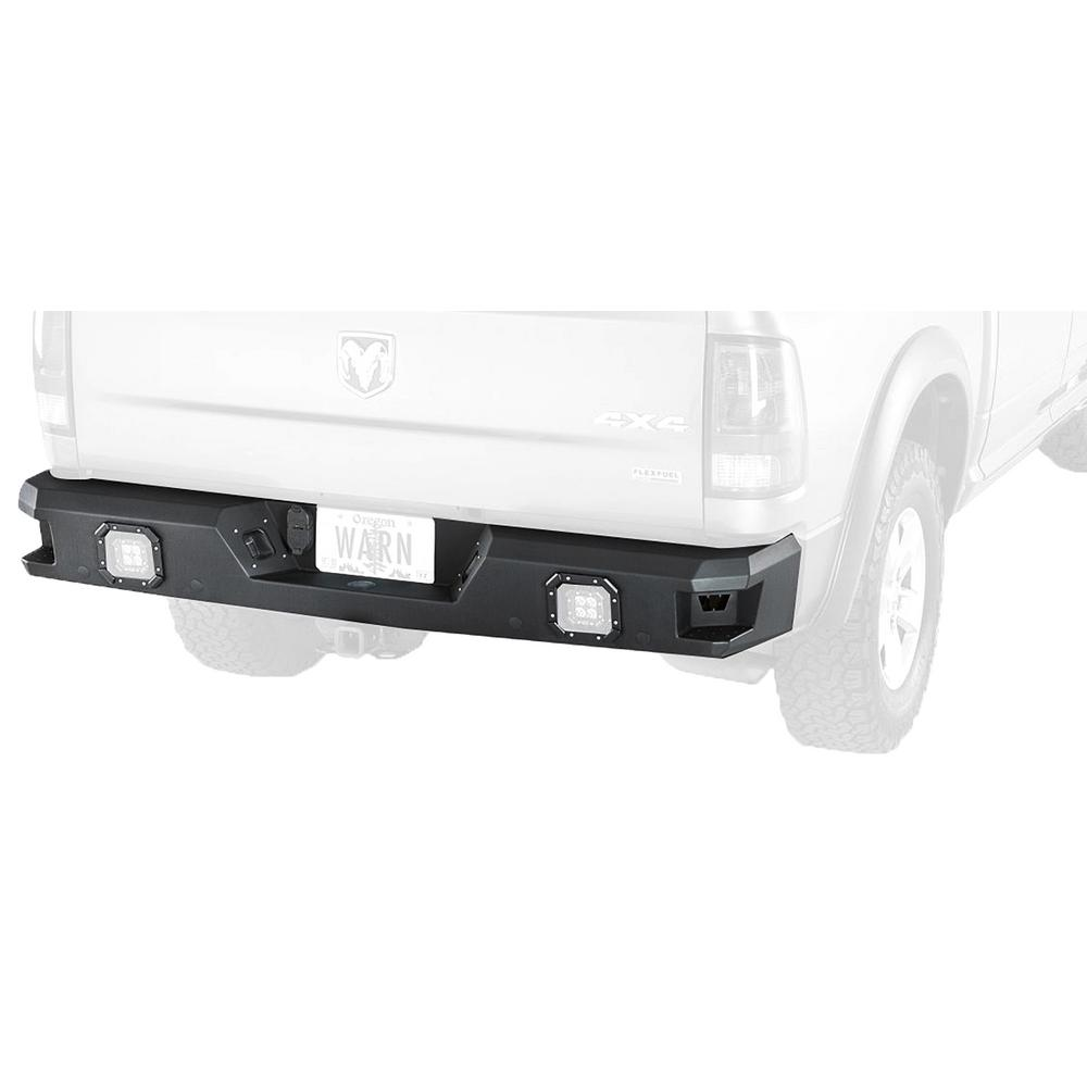 Ram 1500 Bumper >> Warn Ascent Rear Bumper For Ram 1500