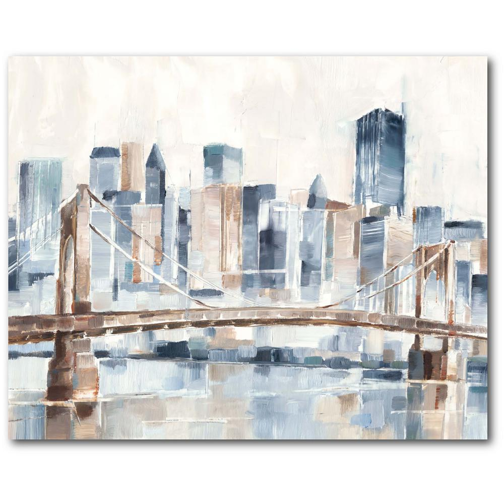 Courtside Market City living in New York II Gallery-Wrapped Canvas Nature Wall Art 20 in. x 16 in., Multi Color was $70.0 now $38.93 (44.0% off)