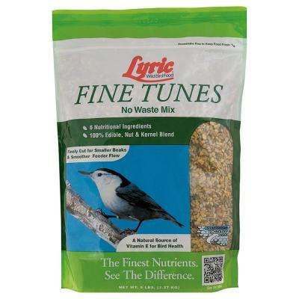 5 lbs. Fine Tunes No Waste Bird Seed Mix