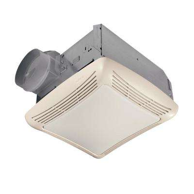 50 CFM Ceiling Exhaust Bath Fan with Light
