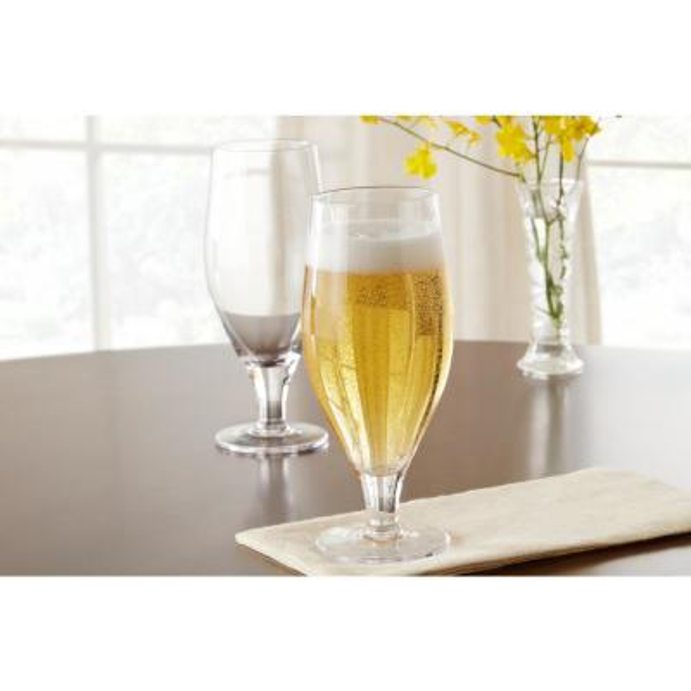 Home Decorators Collection 22.65 fl. oz. Tulip Beer Glasses (Set of 4)