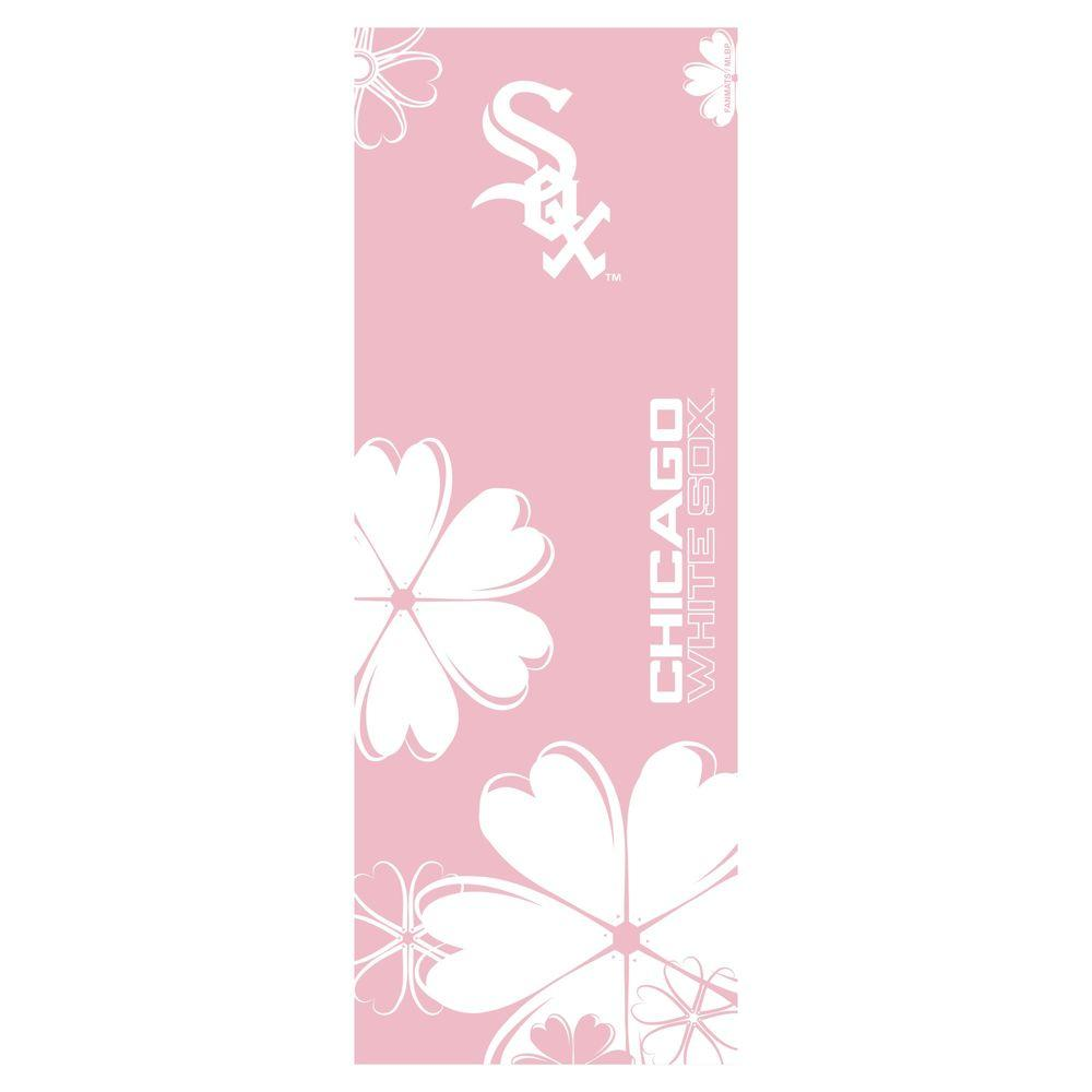 FANMATS Chicago White Sox 24 in. x 67.5 in. Yoga Mat-DISCONTINUED