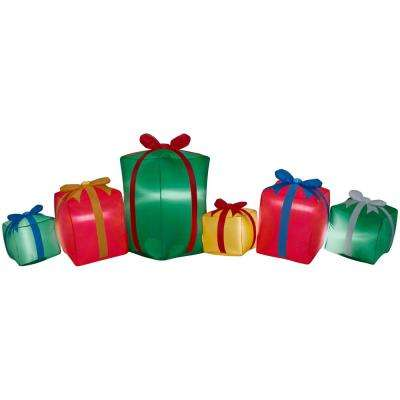 9 ft. Inflatable Airblown Presents Collection Scene