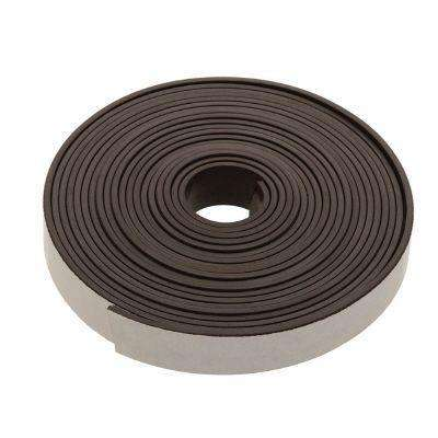 1/2 in. x 30 in. Iron Ferrite Self-Adhesive Magnetic Strip