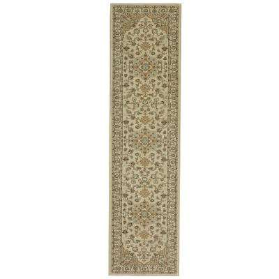 Chilton Ivory 2 ft. x 9 ft. . Indoor Area Runner Rug