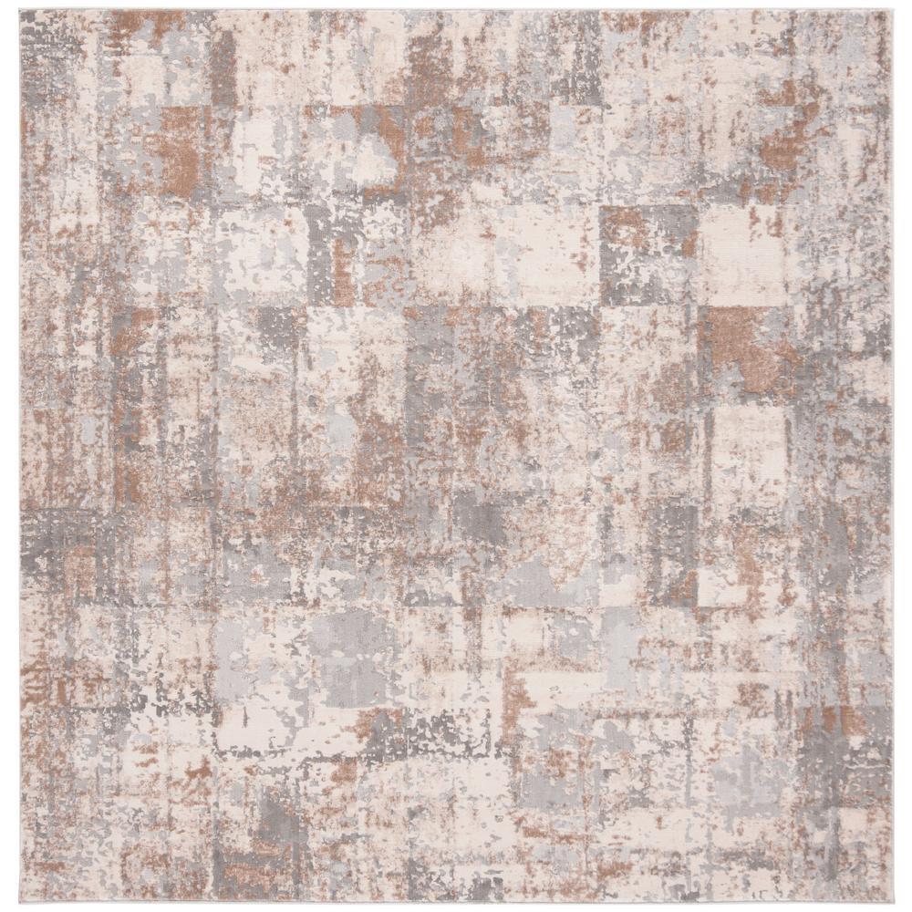 Invista Cream/Beige 7 ft. x 7 ft. Square Area Rug