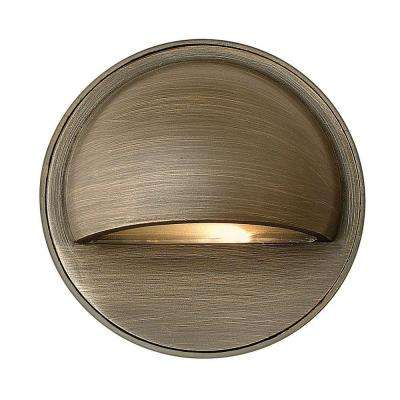 Low-Voltage 2.3-Watt Matte Bronze Hardy Island Path Light