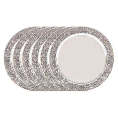 13 in. Etched Rim Charger Plate (Set of 6)