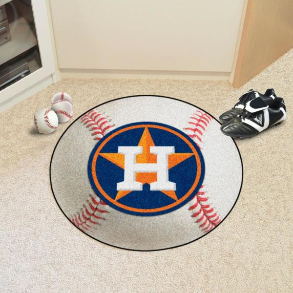 FANMATS 18136 MLB Houston Astros Roundel Mat
