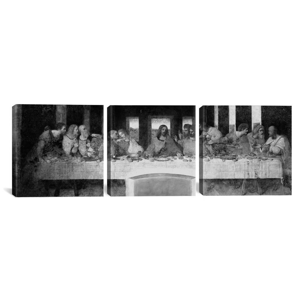 """The Last Supper II"" by Leonardo da Vinci Canvas Wall Art"