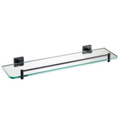 Ventus Bathroom Shelf in Matte Black
