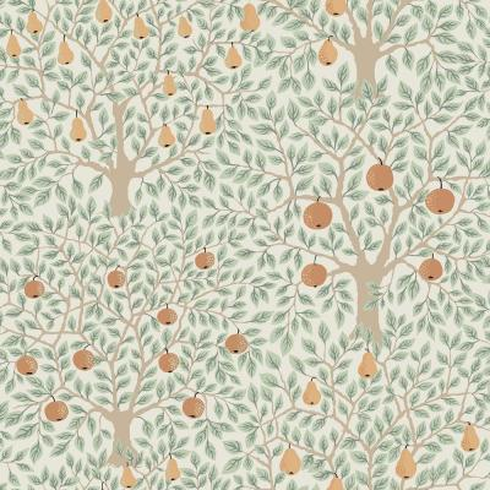 Pomona Multicolor Fruit Tree Wallpaper