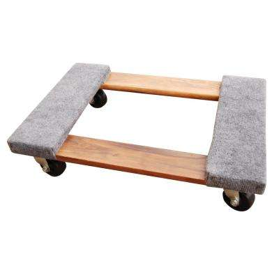 16 in. x 24 in. 900 lb. Carpet End Hardwood Dolly