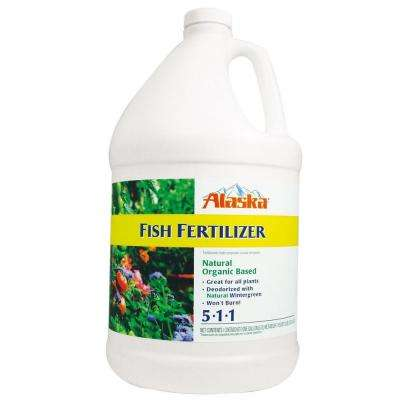 1 Gal. 5-1-1 Organic Liquid Fish Fertilizer