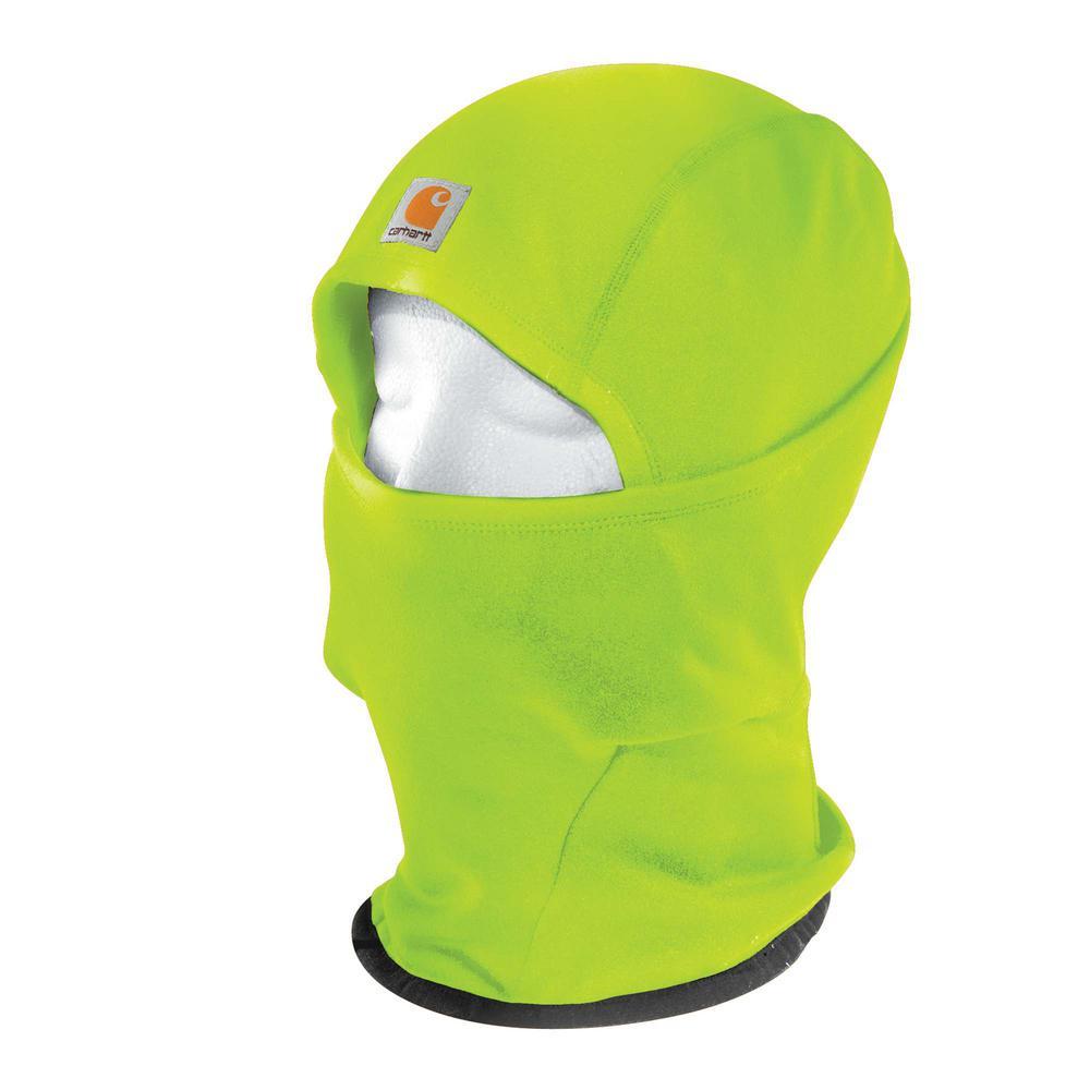 Men's OFA Brite Lime Polyester/Spandex Force Helmet Liner Mask