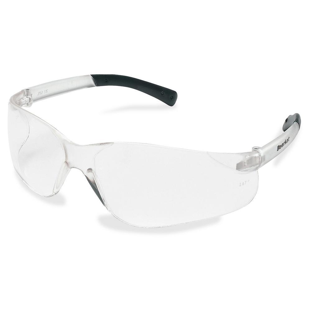 dc5024430471 MCR Safety BearKat Safety Glasses-MCSCRWBK110 - The Home Depot