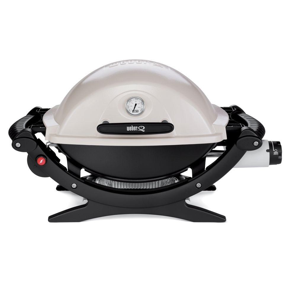 Weber Q-120 Portable Propane Gas Grill-DISCONTINUED