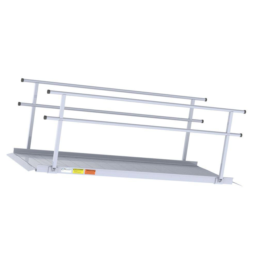 EZ-ACCESS 8 ft. Pathway Ramp with Hr Classic Series