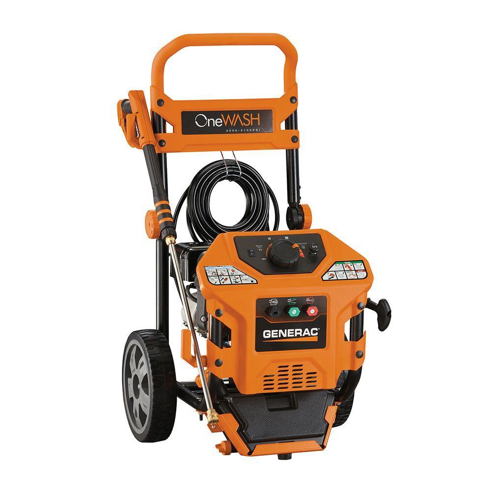 Generac 3,100 psi 2.8-GPM OneWash Variable Speed Gas Pressure Washer