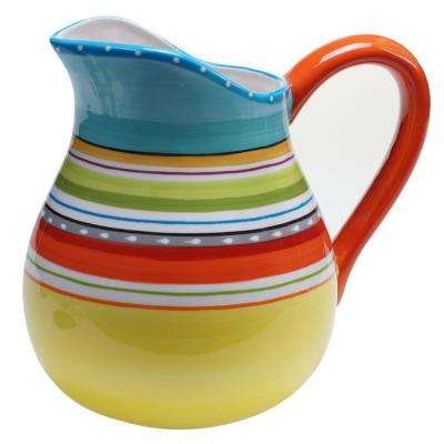 Mariachi Multi-Colored 2.75 in. Quart Pitcher