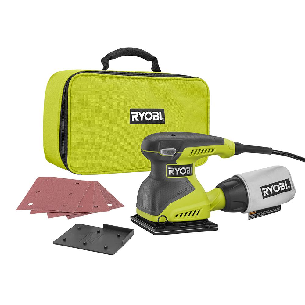 2 Amp Corded 1/4 Sheet Sander