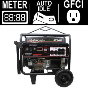 LIFAN OSHA Compliant Pro-Series 8,500-Watt 420cc 15 MHP Gasoline Powered Electric Start Portable Generator by LIFAN