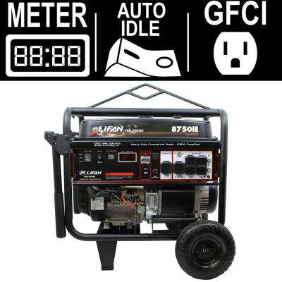 OSHA Compliant Pro-Series 8,000-Watt Gasoline Powered Electric Start Portable Generator