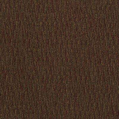 Fabricator Dark Brown Loop 24 in. x 24 in. Modular Carpet Tile Kit (18 Tiles/Case)